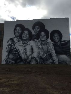1000 images about mjjfam on pinterest michael jackson for Jackson 5 mural gary indiana