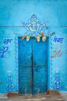 allasianflavours: Blue Door by Brian Hammonds