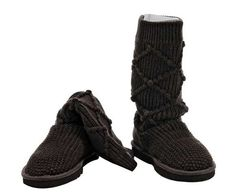 Chocolate Classic Argyle Knit UGG Boots.The Christmas promotion! Our Price : $160.00 Sale Price :$96.99 Save: 39% off!!