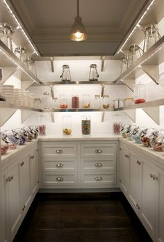 If I can have a candy room in my next house, I will consider my life a success. NEED!!!!  Candy room traditional kitchen