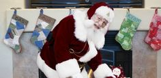 Personalized Picture of Santa in your home