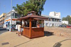 #kiosko #playa #madera