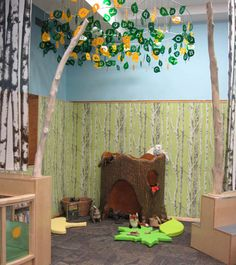 Children's Discovery Library at PVD library. I had no idea they were doing this. Must go soon.