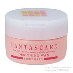 http://www.beauba.com/products/detail.php?product_id=12298 Napla Fantascare Designing Wax Light Hard 120g. #Styling #Wax  Styles hair while conditioning it with 4 naturally-extracted essences: herbal extract. fish-derived collagen / conchiolin and silk protein. Achieves light style with hair flowing naturally with hair tufts.