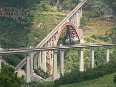 China Beipanjiang Railway Bridge Shuibai