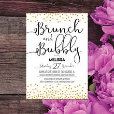 26 trendy wedding invitations formal black and white bridal shower Wedding Shower Invitations, Engagement Invitations, Gold Wedding Invitations, Invites, White Bridal Shower, White Shower, Bridal Showers, Brunch Wedding, Trendy Wedding