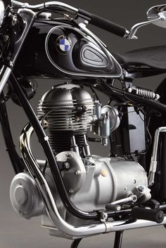 Visit The MACHINE Shop Café... ❤ Best of Bikes @ MACHINE ❤ (1953 BMW R25/2  Motorcycles)