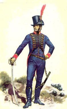 Ejercito Argentino siglo 19 parte 1:Milicias de Ínfanteria - Taringa!