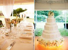 Kate Moss' Wedding - table decor