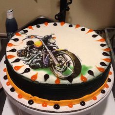 DQ Dairy Queen Cakes...motorcycle