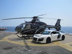 Eurocopter EC135 & Audi R8 PPI Razor GTR. I'll take one of each, please.