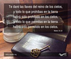 Mateo 16.19 Biblia Textual IV Ed.