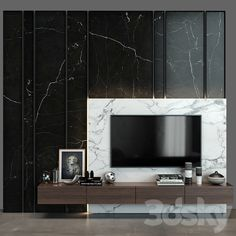 Wall Tv, Wood Stone, Glass Wall Art, Modern Materials, Vase, Models, 3d, Dashboards, Chairs