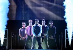 NKOTB (x4).  This may or may not have been the moment I lost my mind and started screaming like my 12 year old self. :)