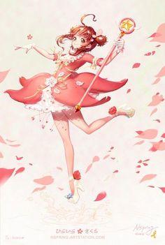 Sakura Kinomoto & Hoa anh đào