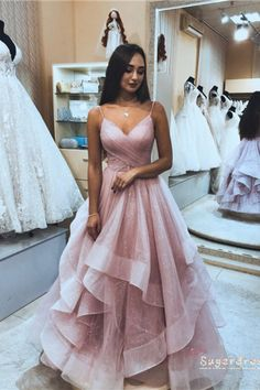 Prom Dresses Long Pink, Pretty Prom Dresses, Hoco Dresses, Tulle Prom Dress, Formal Evening Dresses, Ball Dresses, Elegant Dresses, Evening Gowns, Ball Gowns