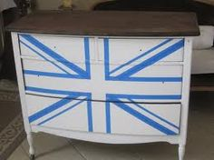 How to tape off a Union Jack design