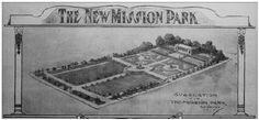 City Grid, Mission District, Park In New York, Golden Gate Park, Urban Park, Parking Design, Arts And Crafts Movement, Central Park, Dolores Park
