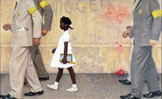The Problem We All Live With by Norman Rockwell
