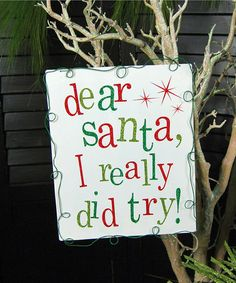 Take a look at this 'Dear Santa' Metal Sign by Adams & Co. on #zulily today!