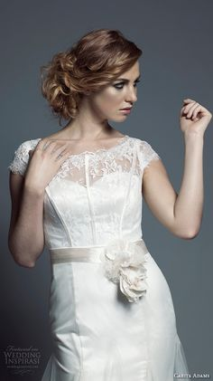 South Africa Wedding Dress Designer Carita Adams Adorn 2015 Bridal Collection |  #southafrica #weddingdressdesigners