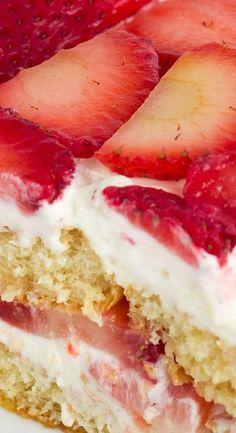 Strawberry Tiramisu -- Not popular that I know of but sounds wonderfully delicious.