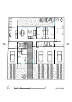 Jacobo Building / DURAN arquitectos asociados _ground floor plan