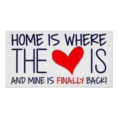Welcome home Sign - Home is where the heart is homecoming sign. Welcome Home Surprise, Welcome Back Home, Welcome Home Daddy, Welcome Home Parties, Welcome Home Gifts, Welcome Back Party, Welcome Home Boyfriend, Welcome Home Signs For Military, Welcome Home Soldier