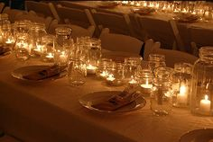 Mason Jar Wedding Centerpieces   ... in Mason Jars Centerpieces   Budget Brides Guide : A Wedding Blog