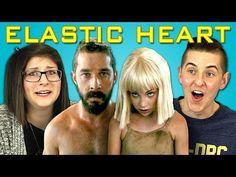 Teens React to Sia - Elastic Heart - YouTube
