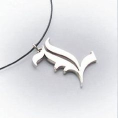For Death Note Letter L Necklace Lawliet Kira Charm Cosplay Metal Silver Top J/&C