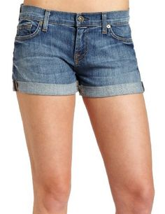 7 For All Mankind Women's Roll Up Denim Short 7 For All Mankind. $160.00