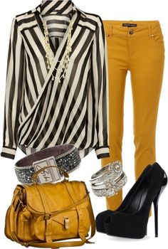 89+ Awesome Striped Outfit Ideas for Different Occasions  - Do you like those striped outfits? Why do you avoid wearing them? Although most of the striped outfits appear to be catchy and fascinating, there are ... -   .