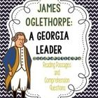 Georgia Second Grade Social Studies Differentiated Reading Passages-difficult to find grade level appropriate activities for James Oglethorpe, Tomochichi, and more!