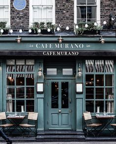 See more ideas about cafe shop, cafe exterior and store fronts. Deco Restaurant, Restaurant Design, Cool Cafe, Cafe Exterior, Interior And Exterior, Cafe Murano, Café Bar, Coffee Shop Design, Cafe Shop