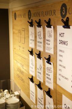 Menu Boards, Retail Experience, Signage, Bacon, Coffee, Drinks, Food, Kaffee, Drinking