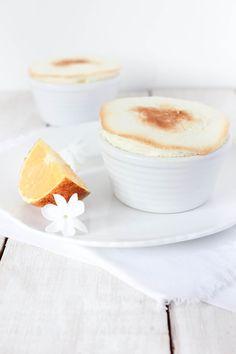 ... orange souffle ...