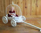 Cinderella Pumpkin Carriage - Medium Size wedding wagon. $360.00, via Etsy.