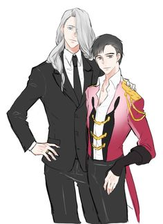 Yuri on ice/Yuri katski/Viktor Nikiforov Love On Ice, ユーリ!!! On Ice, Anime Manga, Anime Guys, Anime Art, Victor Y Yuri, Yuri On Ice Comic, Ai No Kusabi, Victor Nikiforov