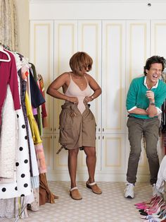 Go behind the scenes as Adam Glassman helps Gayle clean out her overflowing wardrobe. King Fashion, Curvy Girl Fashion, Girl Makeover, Women In Leadership, Successful Women, Scene Photo, Powerful Women, Women Empowerment, New Outfits