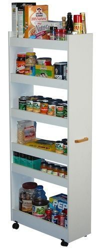 Narrow Pantry Shelves
