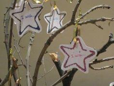 new years eve activities.  Wishing tree
