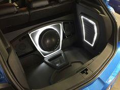 Custom Car Audio, Custom Cars, Car Audio Installation, Subwoofer Box Design, Car Sounds, Ideas, Templates, Autos, Car Tuning