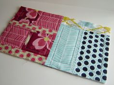 Intriguing method of quilt as you go.. joining the 3 layers of the margin independently of each other.