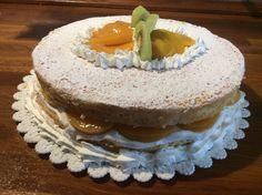 Molly Cake con Crema al latte e frutta
