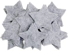 Amazon.com: Playfully Ever After 3 Inch 45pc Felt Stars (Charcoal) Felt Sheets, Popsicle Stick Crafts, Felt Fabric, Charcoal Color, Amazon Art, Sewing Stores, Costume Accessories, Ever After, Sewing Crafts