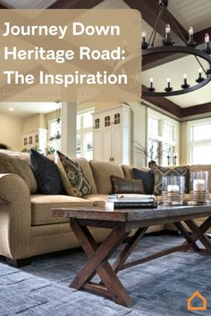 Check out the inspiration behind Ashley HomeStore's newest lifestyle: Heritage Road.