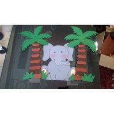 Figuras De Foami Animales De La Selva Safari.... - Bs. 100,00 en MercadoLibre
