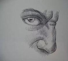 портретный набросок штриховка лица: 7 тыс изображений найдено в Яндекс.Картинках