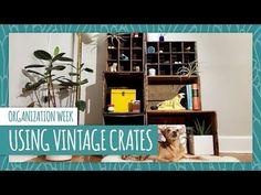Vintage Crates 3 Ways - HGTV Handmade